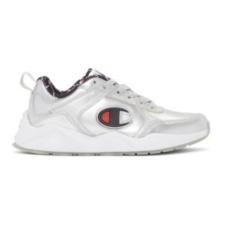 Champion Reverse Weave Silver Metallic 93Eighteen Sneakers