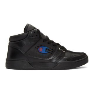Champion Reverse Weave Black 3 On 3 Sneakers