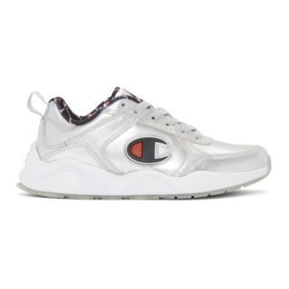 Champion Reverse Weave Silver 93Eighteen Metallic Sneakers