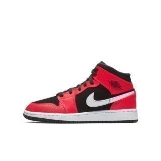 Air Jordan 1 Mid Kinderschoen - Zwart Zwart