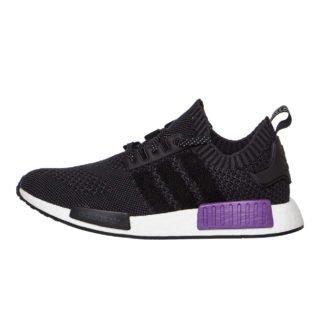 adidas NMD_R1 Primeknit (zwart/paars)