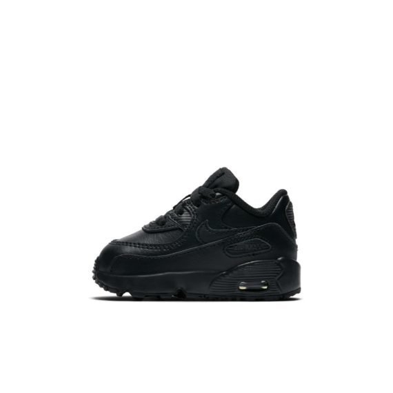 Nike Air Max 90 Leather Schoen baby's/peuters – Zwart Zwart