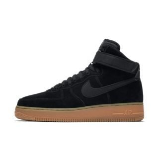 Nike Air Force 1 High'07 LV8 Suede Herenschoen - Zwart Zwart