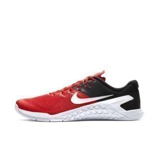 Nike Metcon 4 Herenschoen voor crosstraining en gewichtheffen - Rood Rood