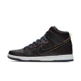 Nike SB Dunk High Pro NBA Skateschoen voor heren - Zwart Zwart
