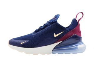 Nike Air Max 270 Wmns (blauw/zilver/roze)