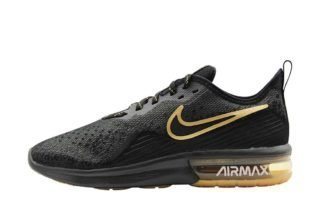 Nike Air Max Sequent 4 (zwart/wit)