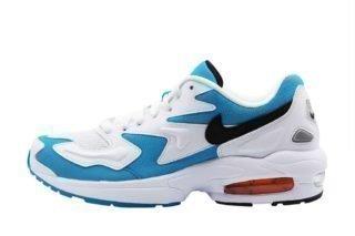 Nike Air Max2 Light (wit/zwart/blauw/overige kleuren/oranje)