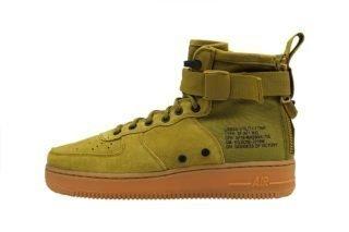 Nike SF Air Force 1 Mid (groen/bruin/zwart/grijs)
