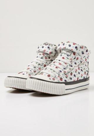 British Knights dee girls high-top sneaker (wit)