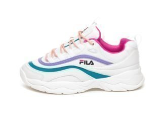 FILA Heritage Ray Low Wmn (White / Very Berry / Caribbean Sea)