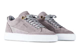 Mason Garments Tia – Suede – Grey (SS19)