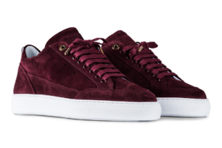 Mason Garments Tia – Suede – Bordo (SS19)