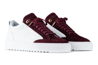 Mason Garments Tia – Leather / Suede – Bordo (SS19)