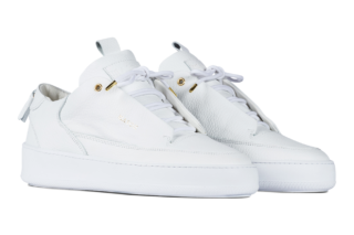 Mason Garments Milano Leather – White (FW17BLLWH)
