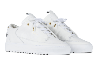 Mason Garments Milano Leather RAF – White (SS18)