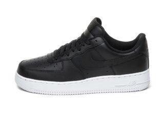 Nike Air Force 1 ´07 (Black / Black - White)