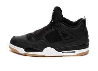 Nike Air Jordan 4 Retro SE *Black Laser* (Black / White - Gum Light Br