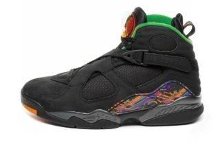 Nike Air Jordan 8 Retro *Tinker Air Raid* (Black /Light Concord - Aloe