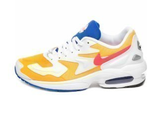 Nike Air Max² Light (University Gold / Flash Crimson - Racer Blue)