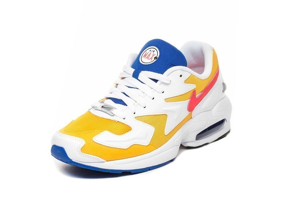 new product f08a5 cbbd8 Nike Air Max² Light (University Gold   Flash Crimson – Racer Blue).  Stijlcode   AO1741 700