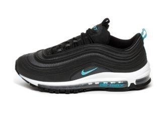 Nike Air Max 97 (Black / Blue Fury - Dark Grey)