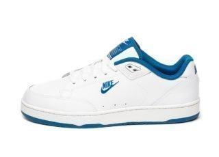 Nike Grandstand II (White / Team Royal)