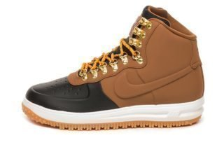 Nike Lunar Force 1 Duckboot '18 (Black / Light British Tan - Phantom)