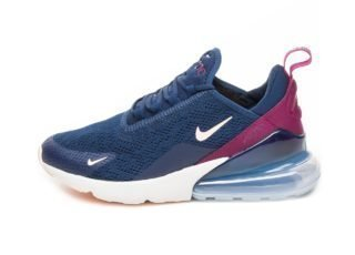 Nike Wmns Air Max 270 (Blue Void / Crimson Tint - True Berry)