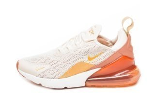Nike Wmns Air Max 270 (Light Cream / Metallic Gold - Terra Blush)