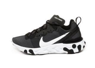 Nike Wmns React Element 55 (Black / White)