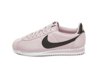 Nike Wmns Classic Cortez Nylon (Plum Chalk / Black - White)