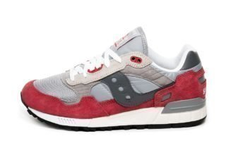 Saucony Shadow 5000 Vintage (Grey / Red)