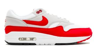 Nike Air Max 90/1 AQ1273 100 Rood / Wit
