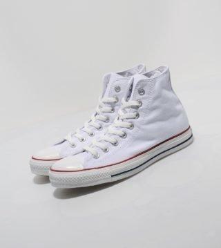 Converse All Star Hi voor dames (wit)
