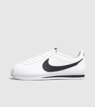 Nike Cortez Leather (wit)