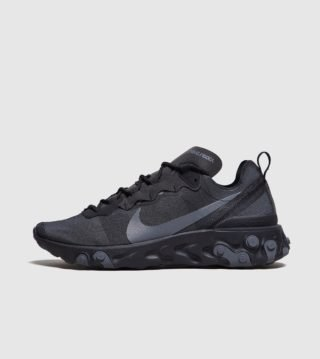 Nike React Element 55 (zwart)
