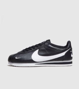 Nike Cortez Leather (zwart)