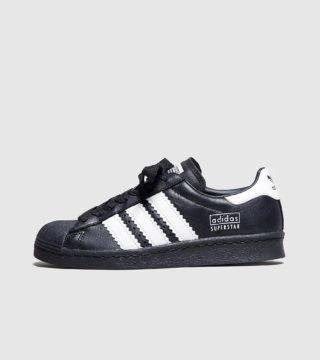 adidas Originals Superstar Fat Stripes Dames (zwart)