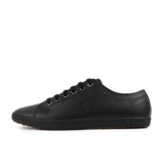 Fred Perry Kingston Leather Black