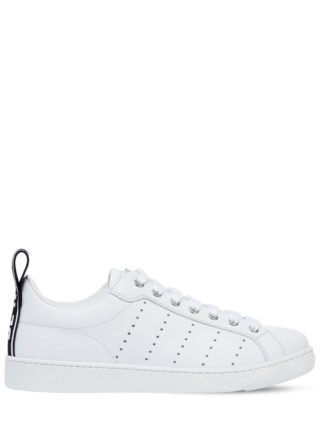 20mm Be Cool Be Nice Leather Sneakers (wit)