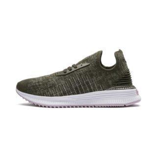 PUMA AVID evoKNIT Mosaic sneakers (Roze/Groen)