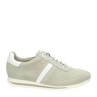 s.Oliver suède sneakers (bruin)