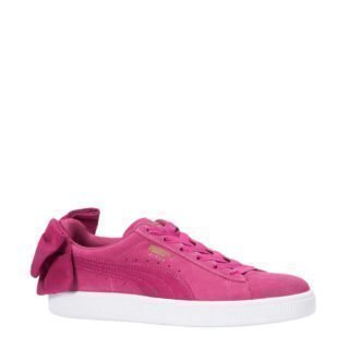 Puma Suède Bow sneakers fuchsia (roze)