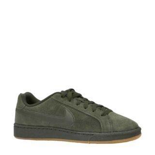 Nike Court Royale suède sneakers donkergroen (groen)