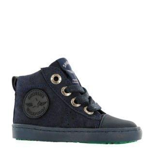 Shoesme suède sneakers marine (blauw)