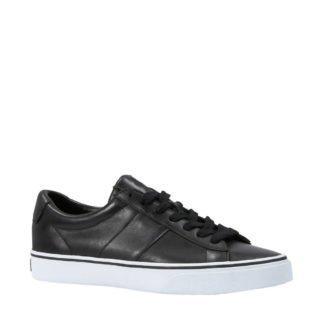 POLO Ralph Lauren leren sneakers zwart (zwart)