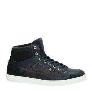 Gaastra leren sneakers marine (blauw)