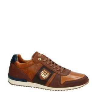 Pantofola d'Oro leren sneakers cognac (bruin)