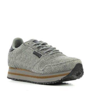 Woden suède sneakers grijs (grijs)